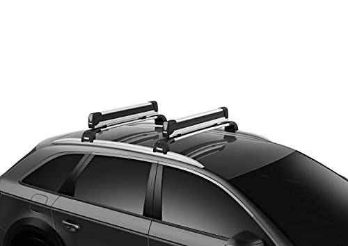Thule Snowpack Extender Roof Mounted Ski/Snowboard Carrier