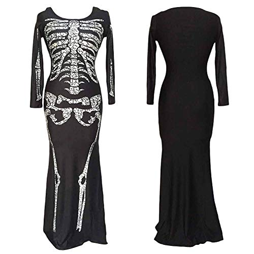2018 Sexy Halloween Costumes Ghost Festival Horror Skeleton