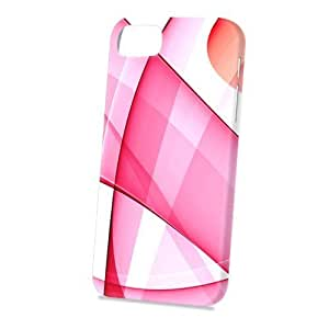 TYH - Case Fun Apple iPhone 5 / 5S Case - Vogue Version - 3D Full Wrap - Abstract Pink Pattern phone case