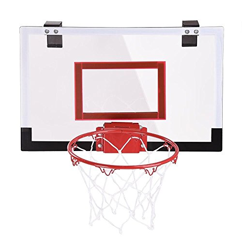 Mini Basketball Hoop System Indoor Outdoor Home Office Wall Basketball Net Goal Suitable for home, office and dorm