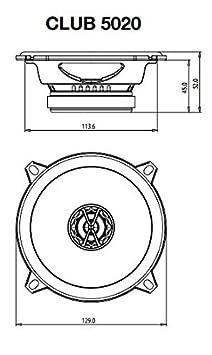 Einbauset BMW 3er E46 13cm 3-Wege 130mm Triaxe 250W Auto Einbausatz Lautsprecher Boxen Pioneer TS-G1330F