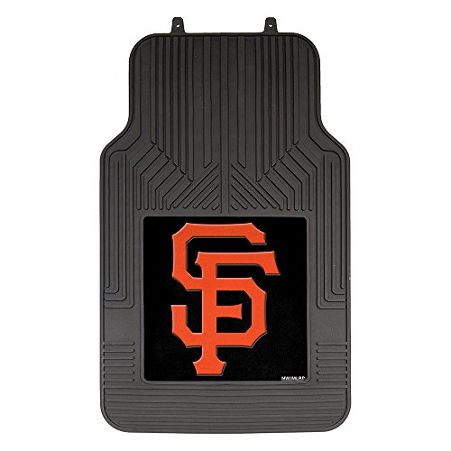 The Northwest Company MLB San Francisco Giants Licensed Front Floor Mats, One Size, - Giants San Francisco Mats Car