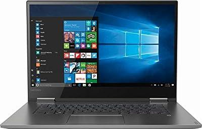 "Newest Lenovo Yoga 730 2-in-1 15.6"" FHD IPS Touch-Screen Premium Laptop | Intel Quad Core i5-8250U (beat i7-7500U) | 16GB DDR4 RAM | 512GB SSD | Thunderbolt | Backlit Keyboard | Windows 10 | Iron Gray"