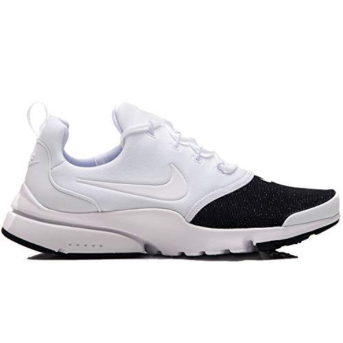 Wmns Chaussures Fly Presto Multicolore metallic black 100 white white Silver Nike Prm Running Compétition De Femme cgRBnHqwW