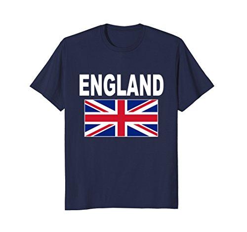 Mens England T-Shirt British Flag English Cool Uk Flags Gift Tee Large (Cool T-shirts Uk)