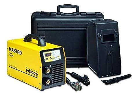 Soldador inverter profesional Deca Mastro 314hd + Accesorios: Amazon.es: Bricolaje y herramientas