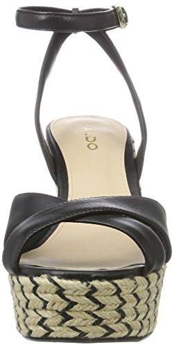 Aldo Annalynn - Sandalias de tobillo Mujer Negro (97 Black Leather)