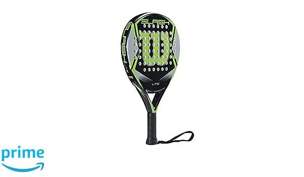 Amazon.com : Wilson Slash Lite Padel/POP Tennis Paddle (BK/GR) : Sports & Outdoors