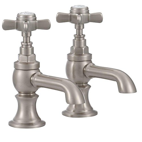 Elizabethan Classics ECBF10SN Basin Faucet, Satin Nickel