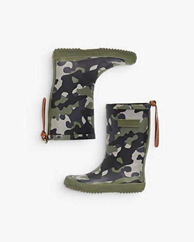 Bisgaard Unisex-Kinder 92007999 Gummistiefel Mehrfarbig (176 Camouflage 176)