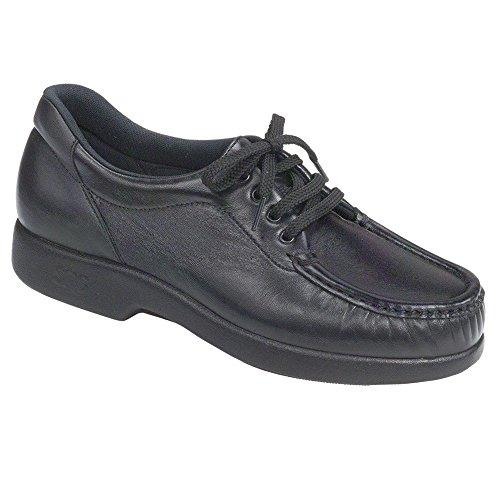 SAS Take Time Women's Leather Shoes,Black, 10 Wide by SAS