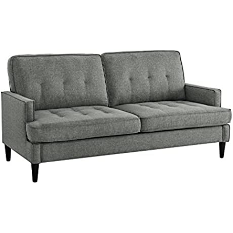 Dorel Living Marley Sofa Gray