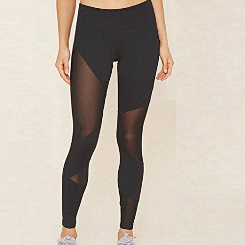 71545024f3084 Pants, Hot Sale! Auwer Women High Waist Athletic Trouser Skinny Pants  Sports Gym Yoga Running Fitness Legging (M, Black)