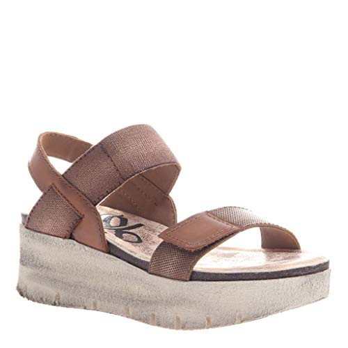 - OTBT Women's Nova Wedge Sandals - Copper - 10 M US