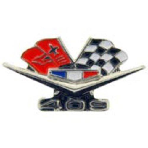 Chevrolet 409 Turbo-Jet Flags Pin - Chevrolet Pins