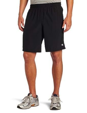 Champion Men's Clothing Double Dry Demand Short, Black, Small
