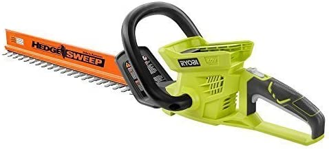 Ryobi 24 in. 40-Volt Lithium-ion Cordless Hedge Trimmer – Battery and Charger Not Included by Ryobi Renewed
