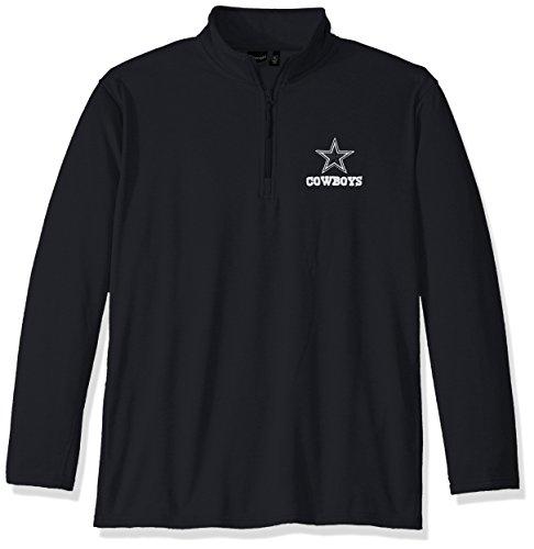 Dunbrooke Apparel NFL Dallas Cowboys Unisex All Starall Star Tech Fleece  1 4 Zip 596062e9a