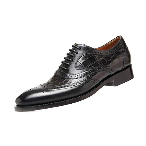 Sposa Punta High End Black Scarpe Scarpe A Goodyear Personalizzate Fatte A Mano Stringate da Stylish ww7qv