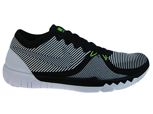 a22ac85c2d66d Galleon - Nike Mens Free Trainer 3.0 V4 Black White Synthetic  Cross-Trainers Shoes