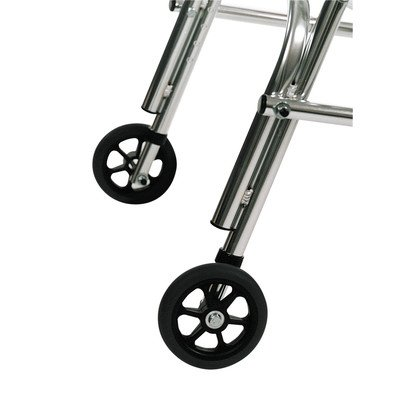 Adolescent's Walker Rear Leg Silent Wheel (Set of 2)
