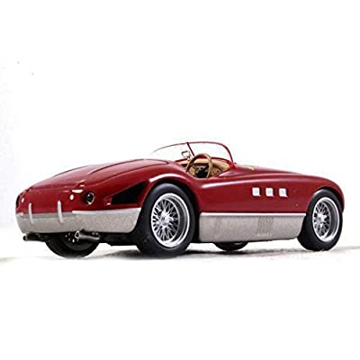 Ferrari 340 MM Spider Red Color 1:43 Scale Diecast Model Sports Car 1952 Year: Toys & Games