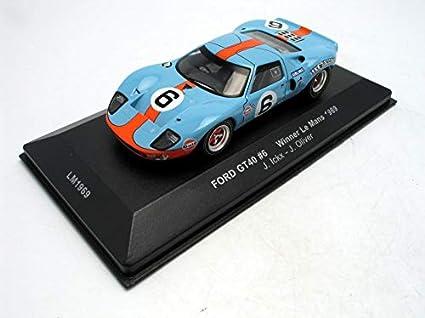 1//43 IXO LM1969 GULF WINNER LE MANS 1969 FORD GT 40