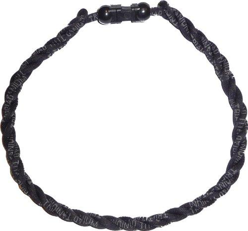 Pinnacle Sports Triad Titanium Solid Color Necklace