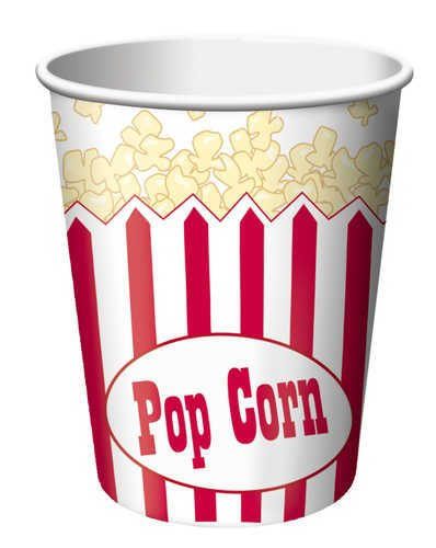 [Creative Converting Reel Hollywood Hot or Cold Beverage Cups, 8-Count] (Affordable Costumes)