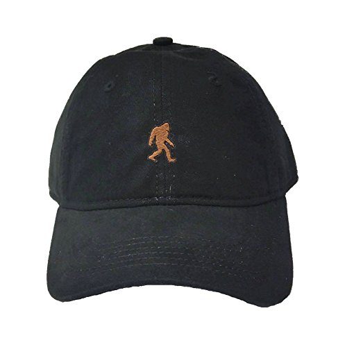 Go All Out Adult Bigfoot Sasquatch Embroidered Deluxe Dad Hat