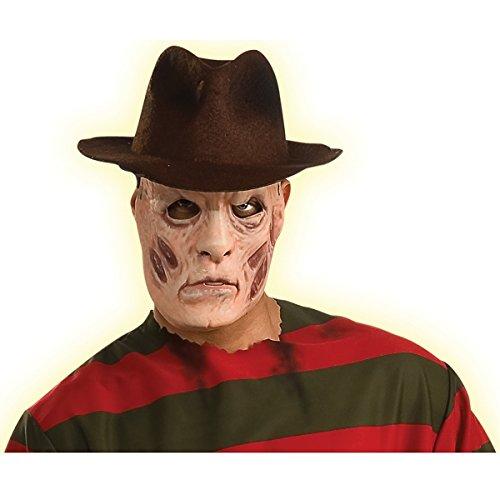 Freddy Mask Costume Accessory (Scary Freddy Krueger Costume)
