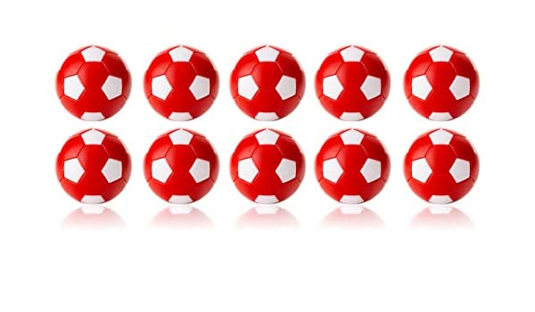 Manuel Gil Bola futbolin Robertson Rojo Blanco 24gr 35mm 10unid ...