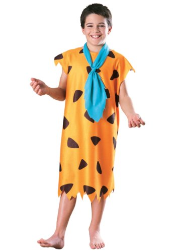 [Child Fred Flintstone Costume - Large] (Kids Flintstones Costumes)