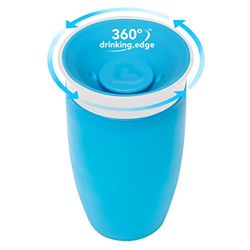 Large Product Image of Munchkin Miracle 360 Sippy Cup, Green/Blue, 10 Ounce, 2 Count