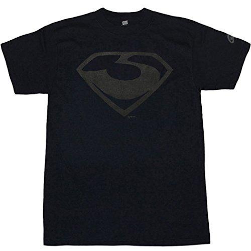 Animation Shops Superman: Man of Steel Zod Symbol T-Shirt-X-Large (General Zod T Shirt Man Of Steel)