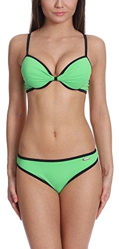 Verano Bikini Conjunto Push Up para mujer Wilma Verde