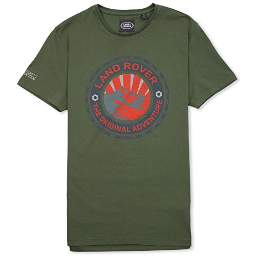 Land Rover Official Merchandise Mens Adventure Tee Large