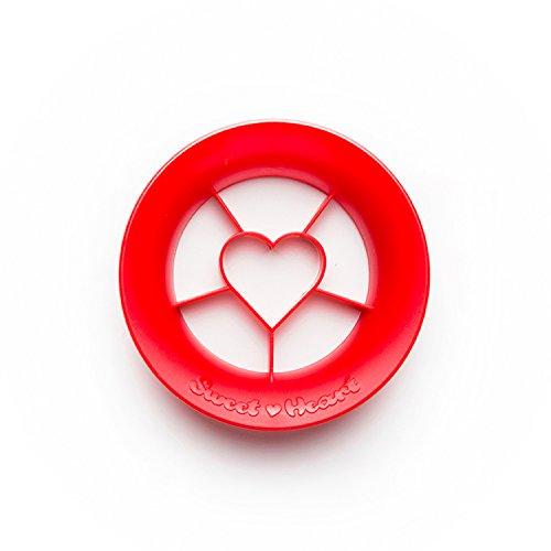 PELEG DESIGN Sweet Heart – Heart Shaped Strawberry Cutter Strawberry Slicer Fruit Cutter Kitchen Gadgets