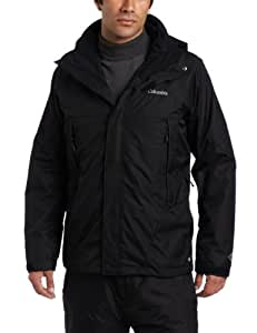 Columbia Men's Erudite II Interchange Jacket, Black, Medium