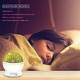 ATOPDREAM Star Night Light Projector for Kids, Star