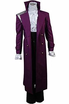 Cosplaysky Purple Rain Costume Prince Rogers Nelson Halloween Full Set