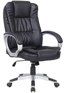 New Luxury Swivel Executive Computer Office Chair K8319   Black