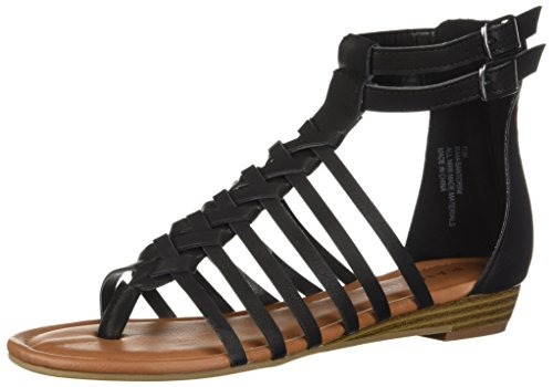 Rampage Women's RAM-Santorini Flat Sandal, Black Polyurethane, for sale  Delivered anywhere in Canada