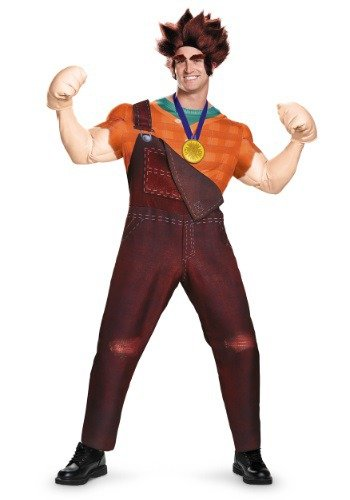 Plus Size Deluxe Wreck It Ralph Costume 2X