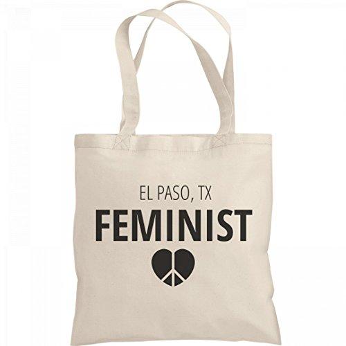 Feminist El Paso, TX Tote Bag: Liberty Bargain Tote - Paso El Tx Shopping