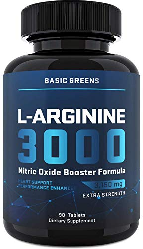 L-Arginine Nitric Oxide Booster