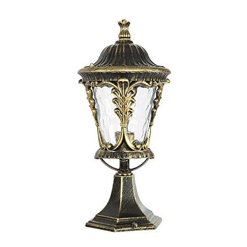 KMYX Cuerpo de la lámpara de Ballard clasificada para Exteriores con luz de baliza IP55 de Bronce para Exteriores Luz de...