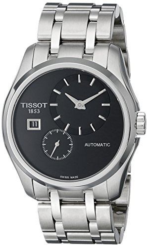Tissot Men's T0354281105100 Analog Display Automatic Self Wind Silver Watch