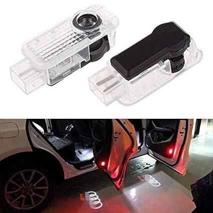 Willkommens Licht,2 Paar LED-H/öflichkeits-Lichter Einfache Installation Autot/ür Laser Projektor Logo Geist Schatten beleuchtet