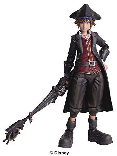 Square Enix Kingdom Hearts III: Sora (Pirate Version) Bring Arts Action Figure
